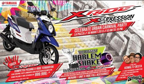 Launching X-Ride di La Piazza